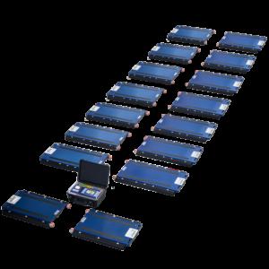 Kit de pesaje para vehículos y camiones de 2 a 8 ejes